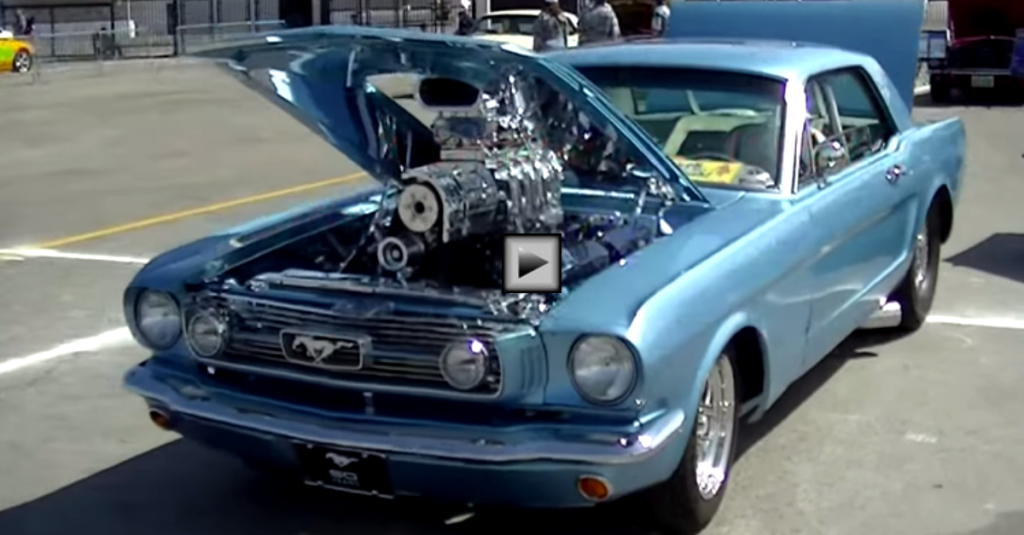 Super Mean 1400hp 1966 Ford Mustang Hot Cars