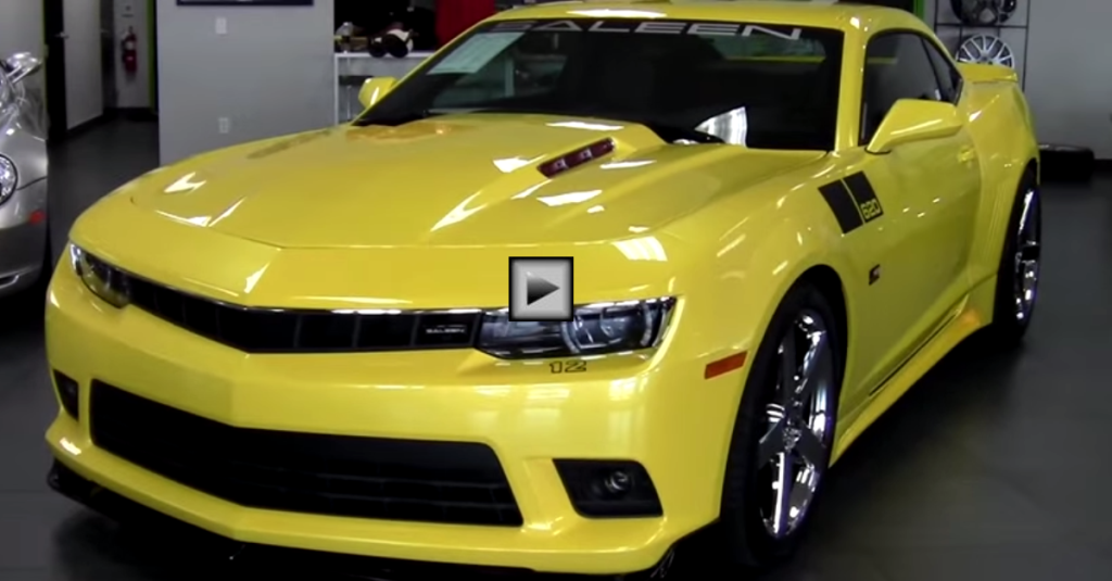 2014 Chevy Ss For Sale >> SUPERCHARGED 2014 CAMARO SS SALEEN BLACK LABEL | HOT CARS