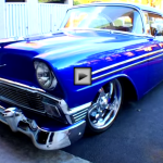 1956 Chevy Bel Air with 2008 Z06 Engine