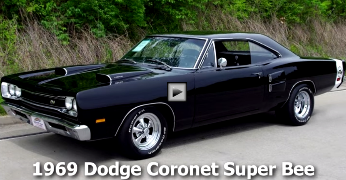 1969 Dodge Coronet Super Bee 472 Hemi Mopar Muscle Car