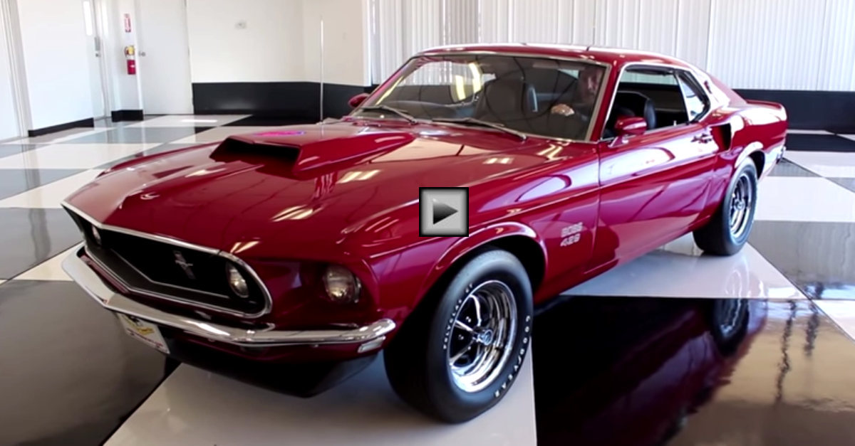 1969 Ford Mustang Boss 429 Kar kraft hand built prototype
