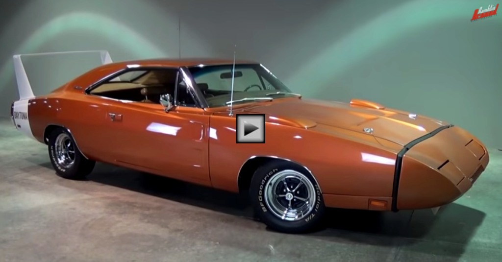 Charger Daytona For Sale >> 1969 DODGE CHARGER DAYTONA IN ACTION | HOT CARS