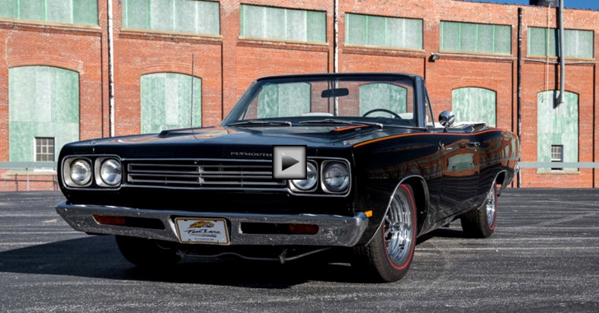 1969 plymouth road runner drop top restored mopar muscle car