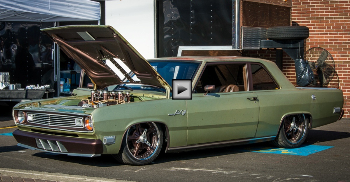 1969 plymouth valiant pissed off 6.4 hemi mopar muscle car
