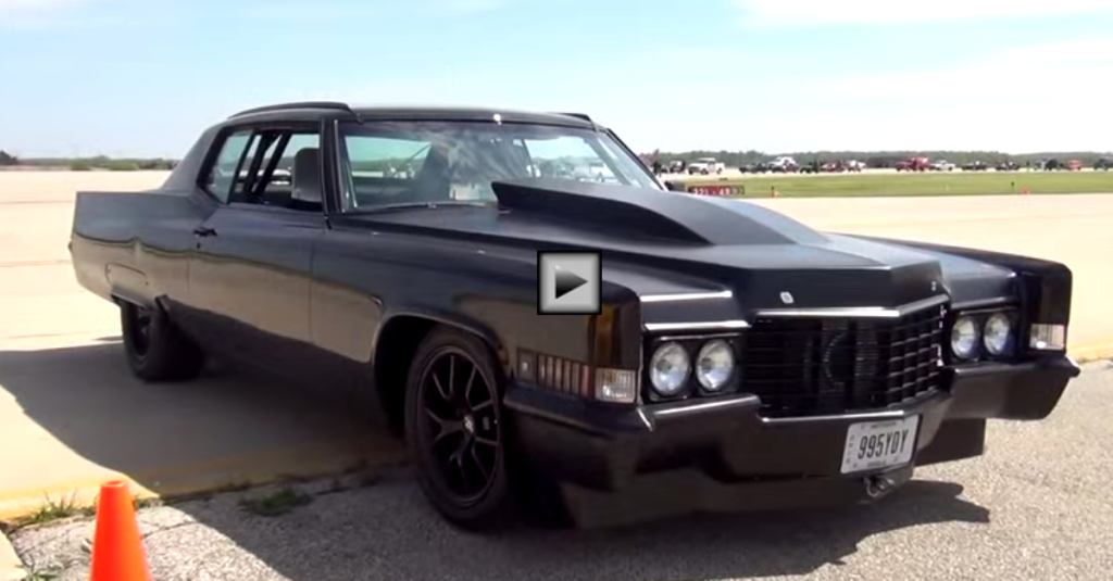 SUPER MEAN 1970 CADILLAC COUPE DEVILLE TURBO | HOT CARS