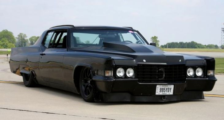 Super Mean 1970 Cadillac Coupe Deville Turbo Hot Cars