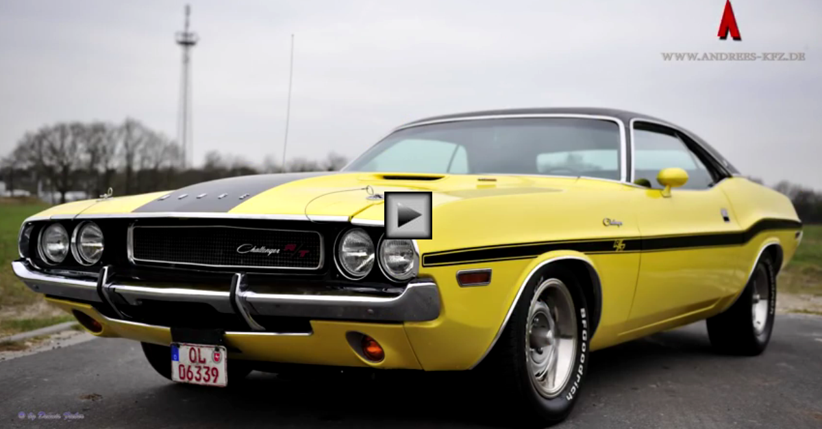 1970 dodge challenger rt in great condition