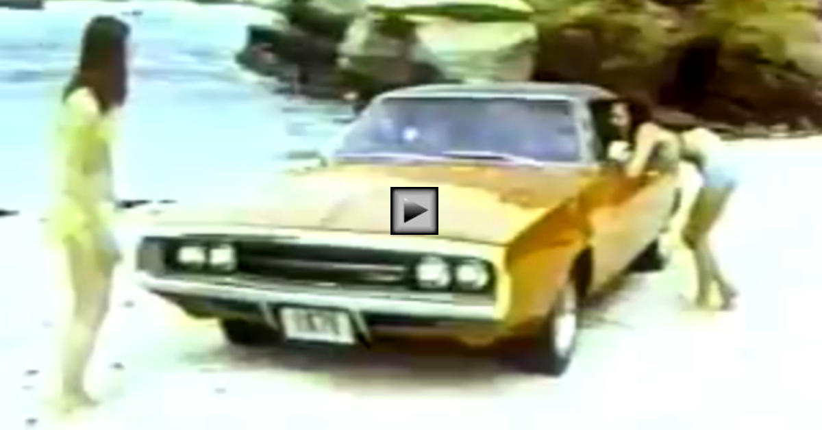 1970 dodge charger 500 tv commercial