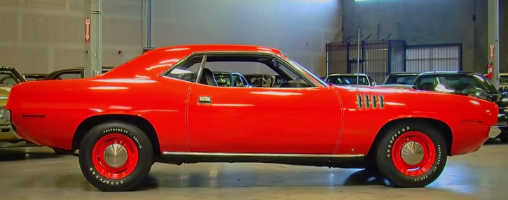1971 plymouth cuda 426 hemi v8 mopar muscle car
