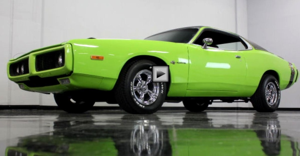 sublime green 1973 dodge charger hardtop hot cars