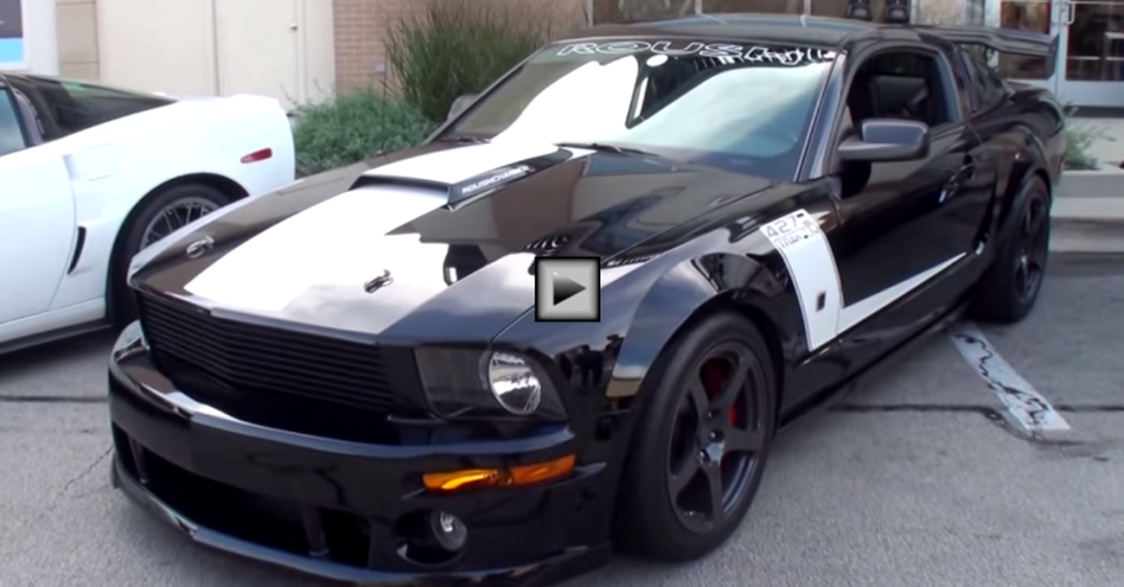 Original 2008 Mustang Roush Trak Pak Hot Cars