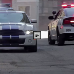 2013 Ford Shelby GT500 vs Cop Cars  Police Chase