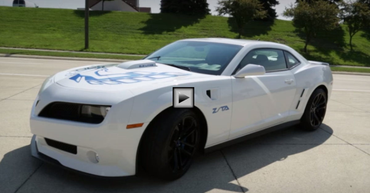 2013 ZTA firebird custom body kit for camaro