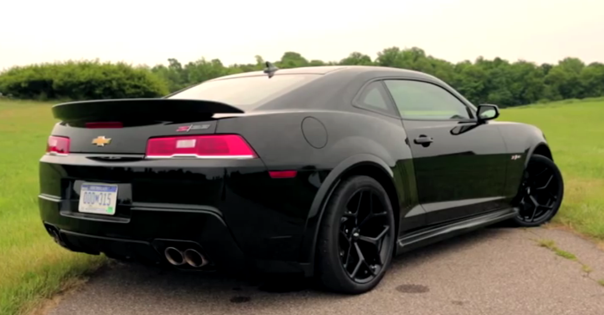 2014 Chevrolet Camaro Z28 review