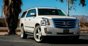 2015 cadillac escalade on forgiato rims