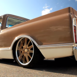 airbagged 1972 chevrolet c10 pick up truck