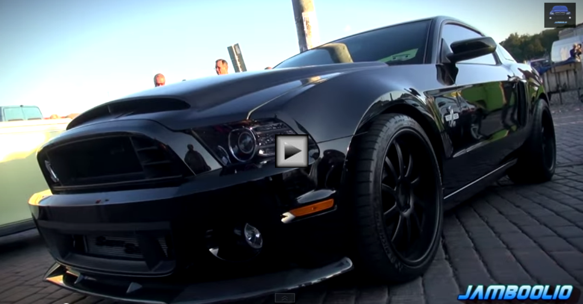 all black mustang shelby gt500 super snake 850 hp