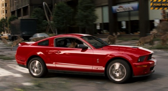 ford mustang gt500 i am a legend movie