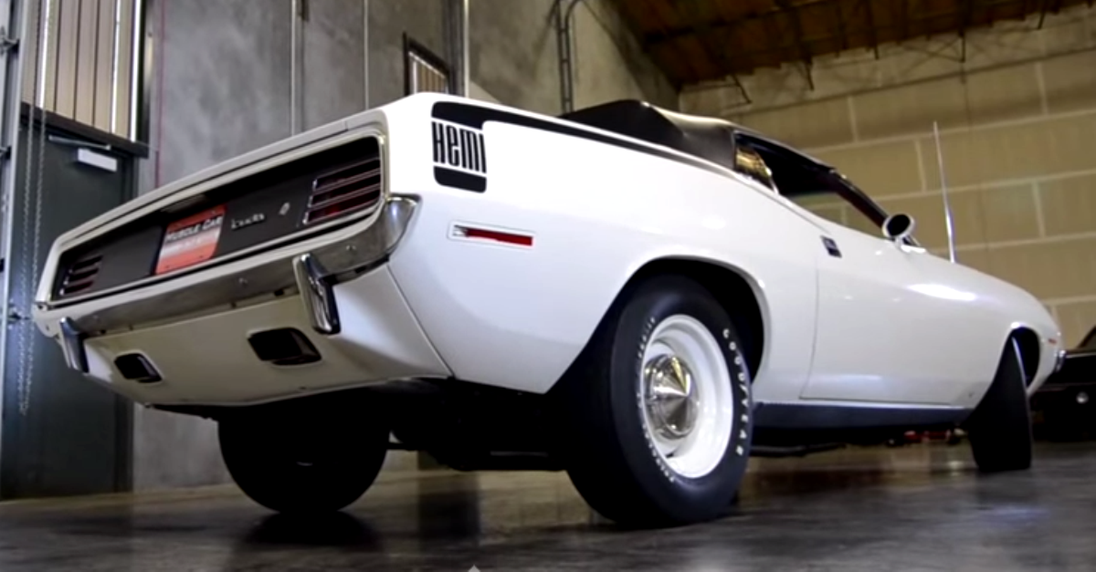 hemi powered 1970 plymouth cuda convertible