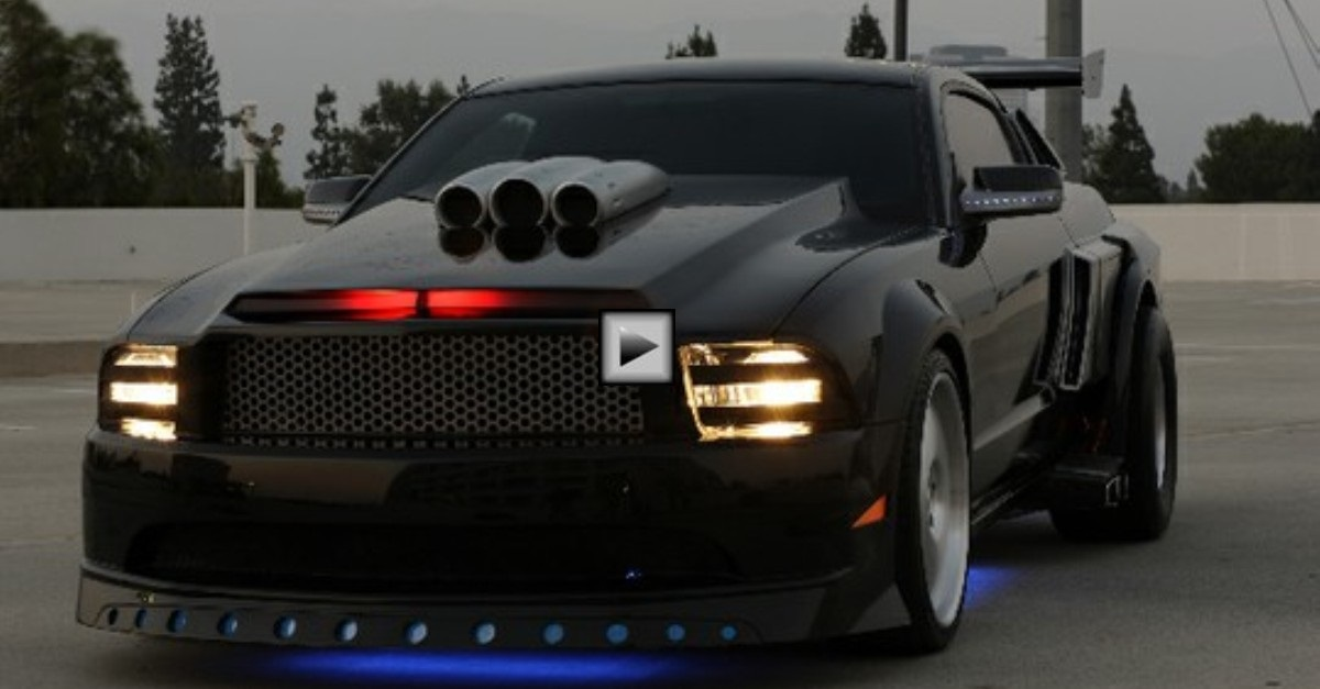 ford mustang shelby gt500kr best from knight rider movie