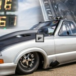 larry larson 1998 chevy s10 twin turbo quickes street car in the world