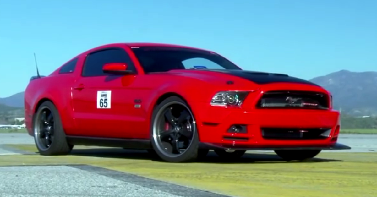mickey thompson supercharged 2013 mustang gt