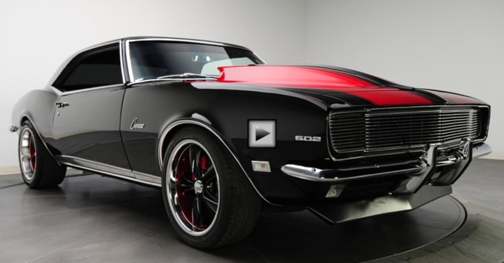 Custom Indian Motorcycle For Sale >> AWESOME 600HP PRO TOURING 1968 CAMARO | HOT CARS