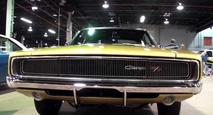 restored 1968 dodge charger rt 426 hemi