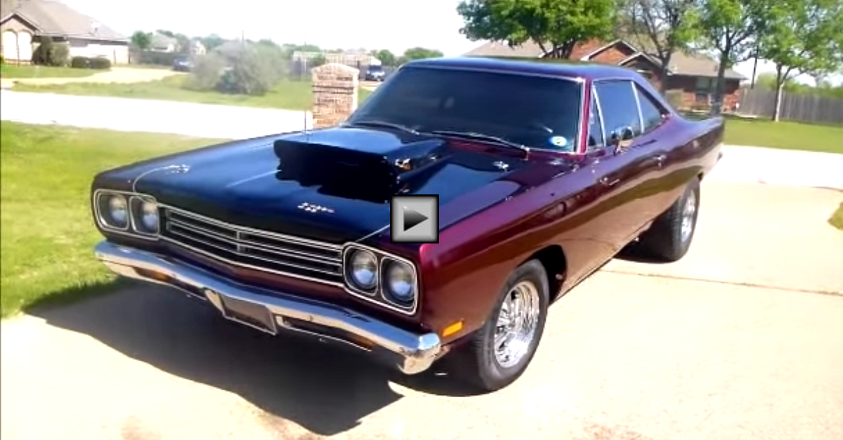 restored 1969 plymouth roadrunner 440 custom
