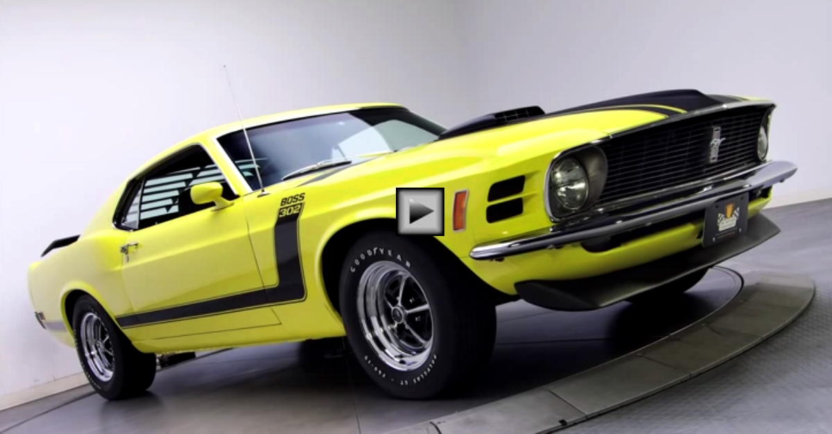 1970 ford mustang boss 302 mean machine hot cars. Black Bedroom Furniture Sets. Home Design Ideas