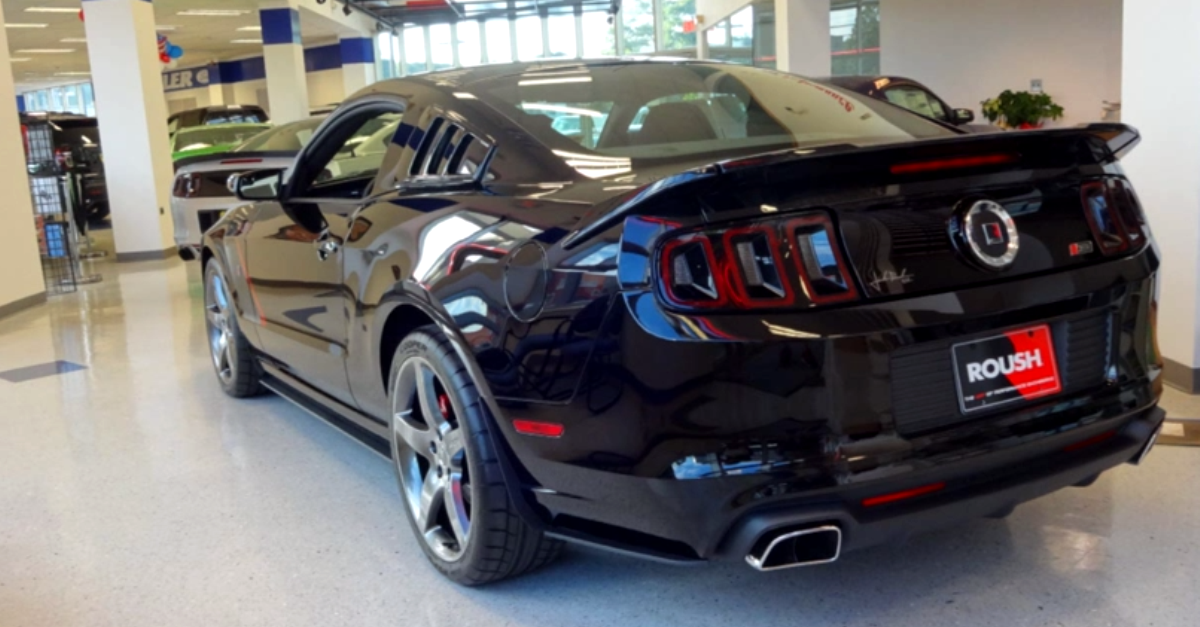 supercharged 2014 ford mustang roush stage 3