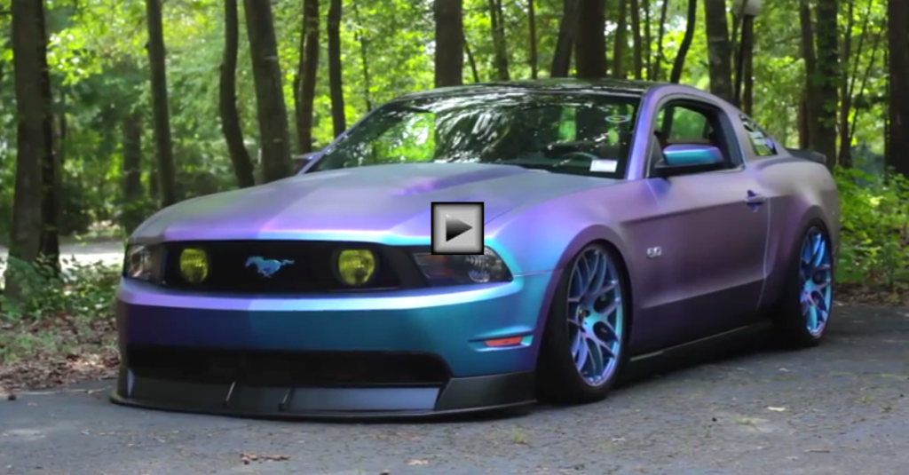 Ford Mustang Gt 5 0 Coyote Bagged Amp Boosted Hot Cars