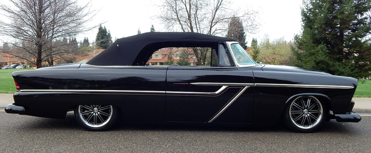 1955 plymouth belvedere convertible hot rod