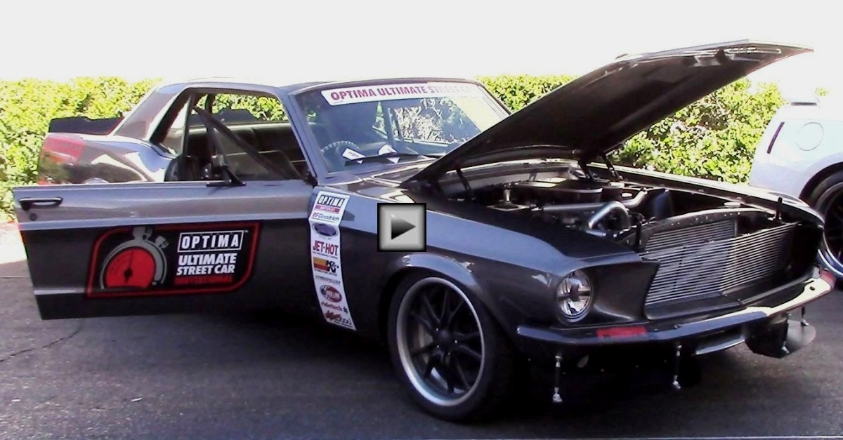 1967 ford mustang custom street car sema 2014