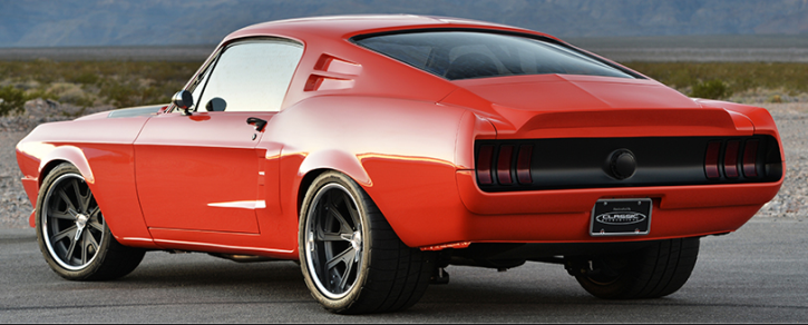 1968 ford mustang custom villain by classic recreations