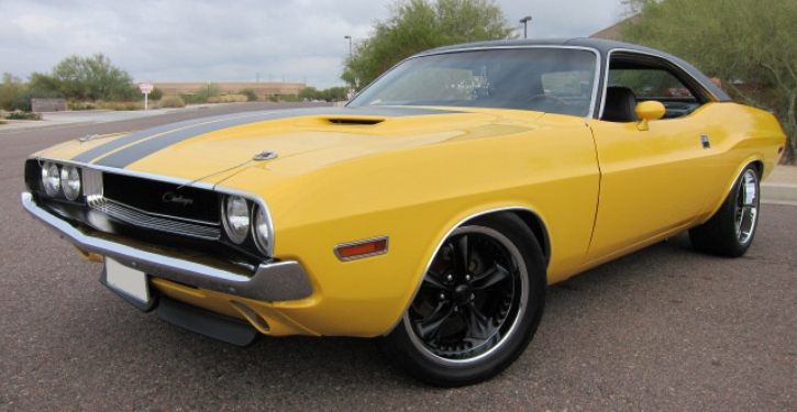 1970 dodge challenger restored muscle car