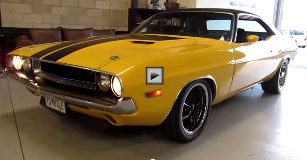 1970 dodge challenger 406 stroker muscle car