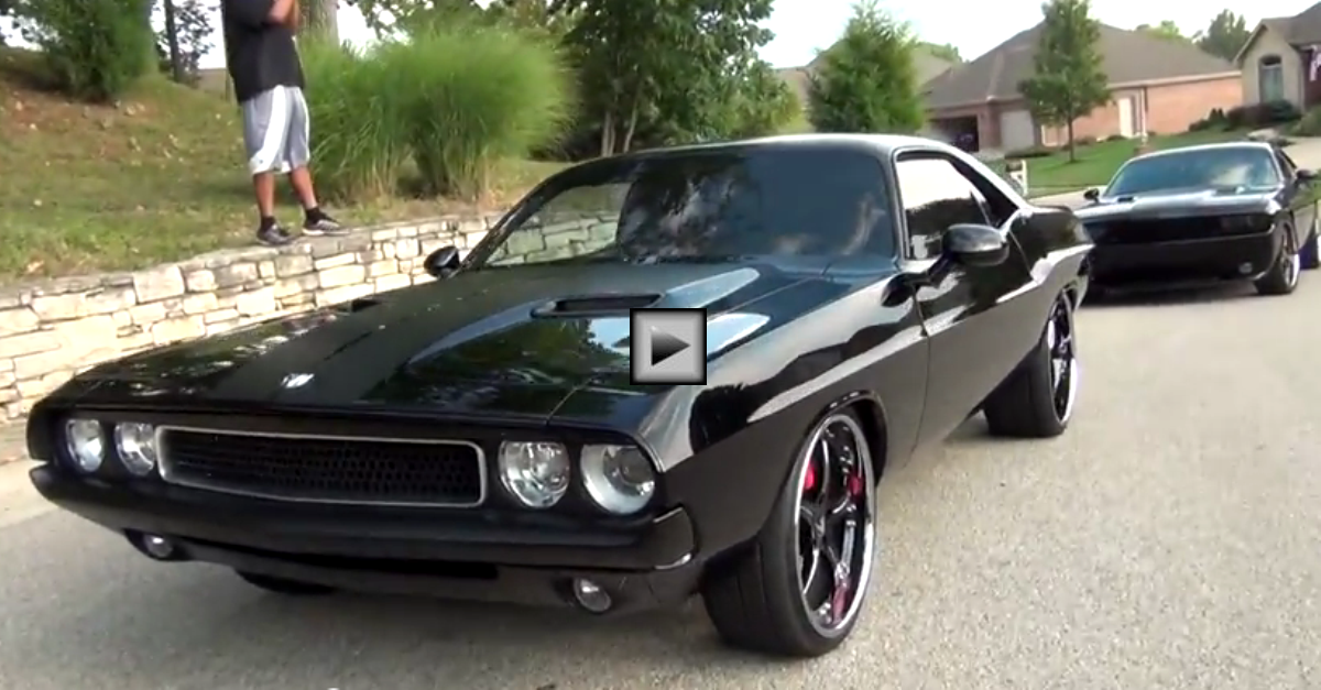 1970 dodge challenger custom built muscle car