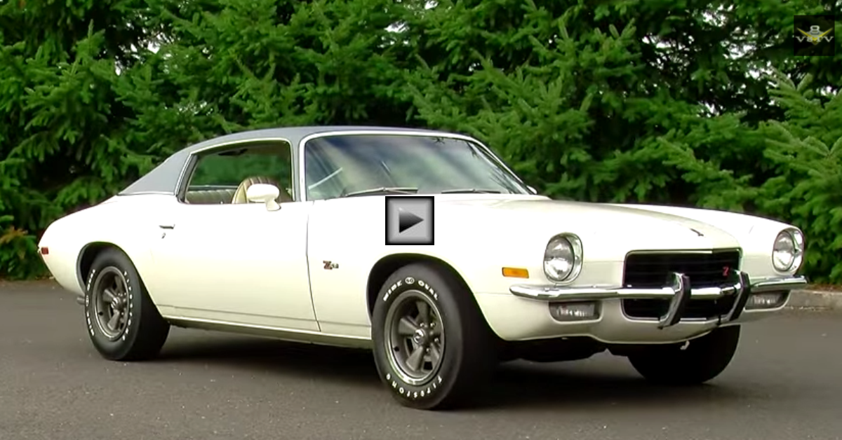 1973 chevrolet camaro z28 brothers collection