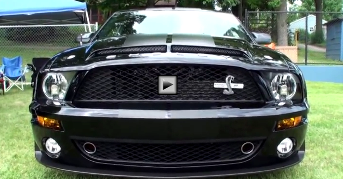 2008 ford mustang shelby gt500kr anniversary edition
