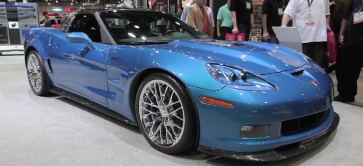 2009 corvette zr1 blue devil sema 2014 hot cars. Black Bedroom Furniture Sets. Home Design Ideas