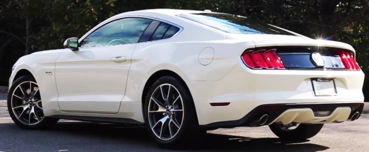 2015 ford mustang gt 50th anniversary edition