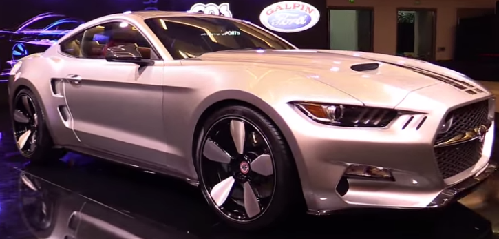 2015 ford mustang rocket by galpin auto sports and fisker review