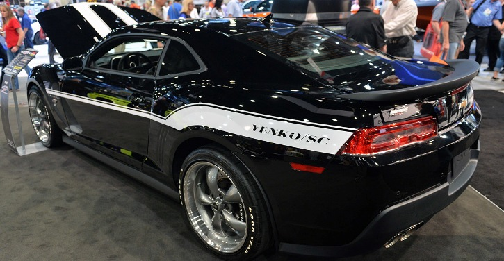 2015 yenko 427 camaro limited edition slp performance muscle car