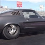 2500hp turbo charged pro street 1967 mustang fastback helleanor