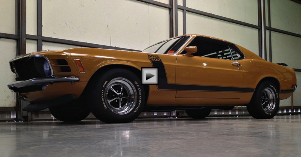 all original ford mustang boss 302 test drive