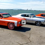 chevy chevelle ss custom ripping up the streets