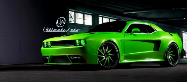 Wide Body Dodge Challenger By Ultimate Auto Hot Cars
