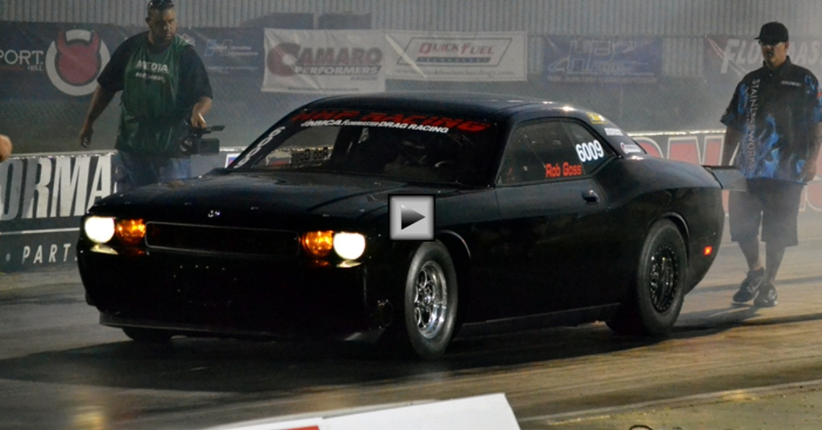hhp dodge challenger new world record