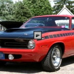 numbers matching 1970 plymouth cuda AAR muscle car